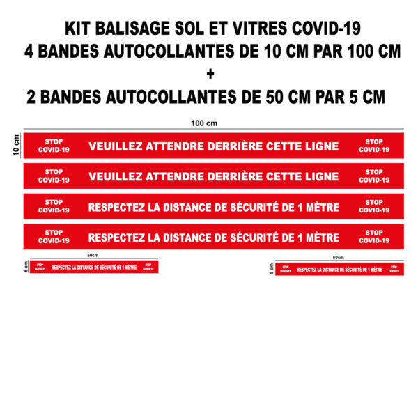BANDES AUTOCOLLANTES (3)