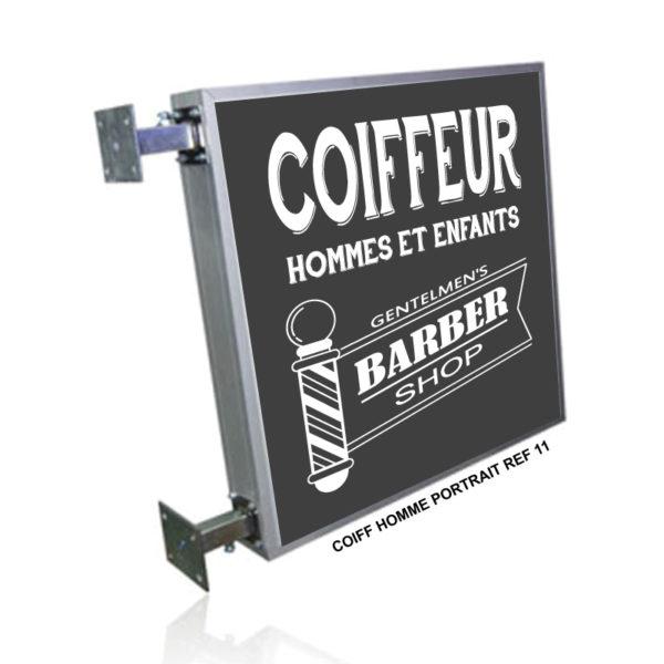 CAISSON BARBER SHOP COIFFURE-HOMME-REF-11 SHOP ENSEIGNE PRODUCTION MARSEILLE 13001 (2)