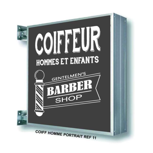 CAISSON BARBER SHOP COIFFURE-HOMME-REF-11 SHOP ENSEIGNE PRODUCTION MARSEILLE 13001 (3)