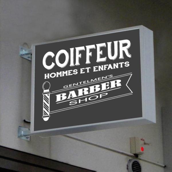 CAISSON BARBER SHOP COIFFURE-HOMME-REF-11 SHOP ENSEIGNE PRODUCTION MARSEILLE 13001 COIFFEUR (1)